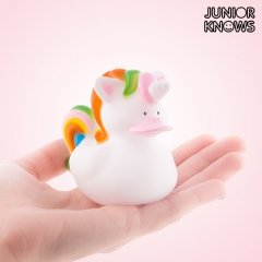 Canard en Caoutchouc Licorne Junior Knows