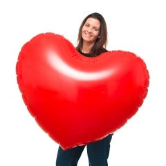 Coeur Gonflable XL
