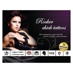 Rockeur Chic Adult Body Art E21257