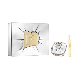 Set de Parfum Femme Lady Million Lucky Paco Rabanne (2 pcs)