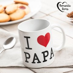 Tasse I Love Papa Romantic Items